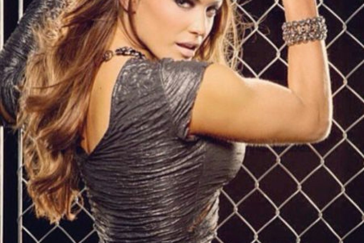 Eve Torres. su padre es de Nicaragua Foto:WWE