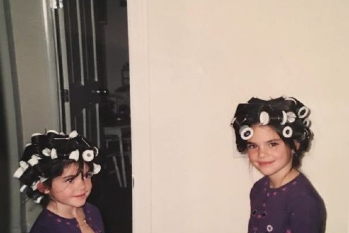 """Estas son las fotos """"retro"""" que Kylie Jenner comparte en su cuenta de Instagram Foto:Vía Instagram/@KylieJenner"""