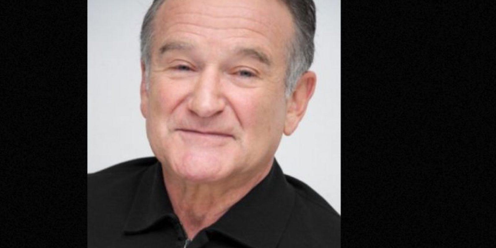 Robin Williams murió ahorcado con su cinturón. Foto:vía Getty Images