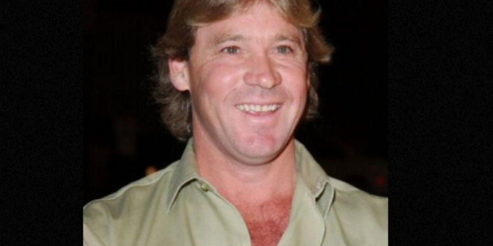 Steve Irwin murió por el ataque de una mantarraya. Foto:vía Getty Images