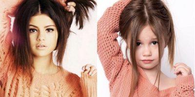 Es modelo de ropa infantil Foto:vía facebook.com/ellee.approved