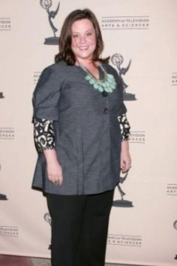 """Melissa McCarthy se hizo conocida por """"Gilmore Girls"""". Foto:vía Getty Images"""