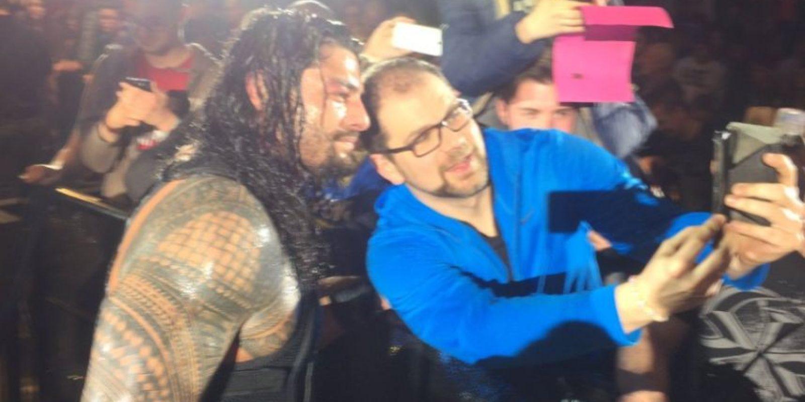 Foto:Vía twitter.com/WWERomanReigns