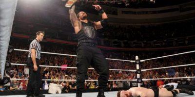 Apareció en el roster principal en 2012 Foto:Vía twitter.com/WWERomanReigns