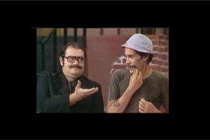 Y solía fumar incluso durante las filmaciones de los programas de Chespirito. Foto:vía twitter.com