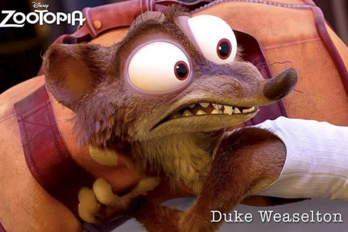 """Duke Waselton"" Foto:vía instagram.com/zootopiadisney"