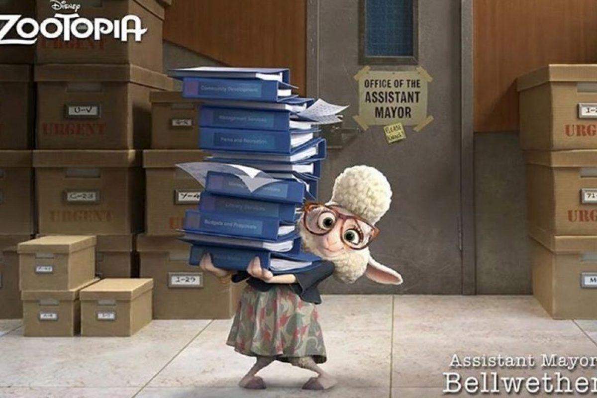 """""""Bellweather"""" Foto:vía instagram.com/zootopiadisney"""