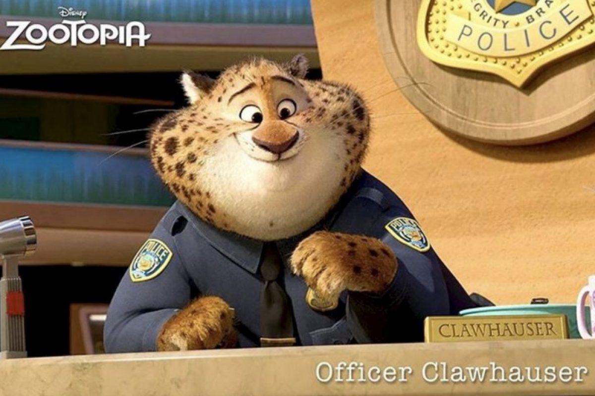 """""""Oficial Clawhauser"""" Foto:vía instagram.com/zootopiadisney"""