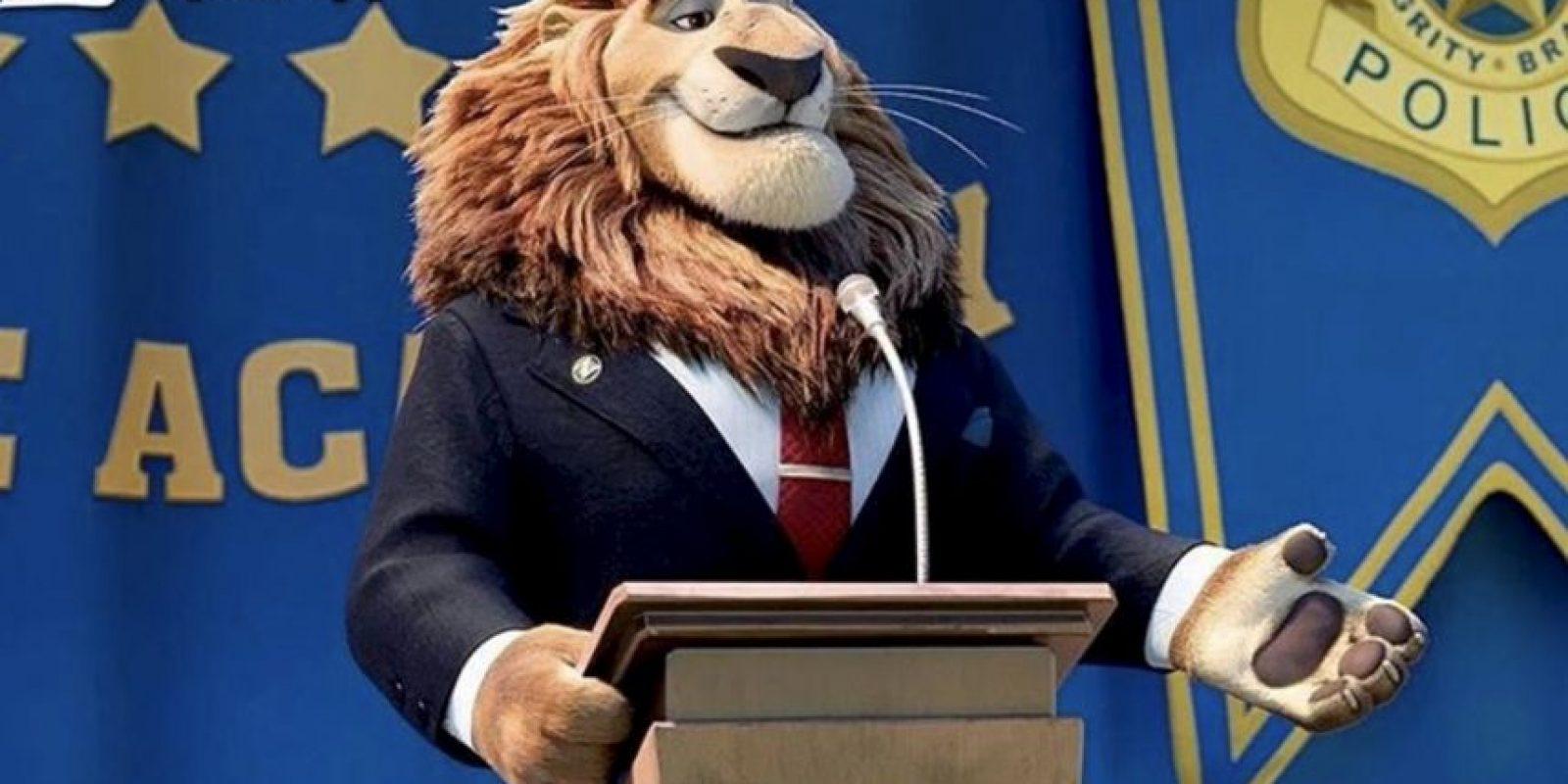 """""""Alcalde Leonheart"""" Foto:vía instagram.com/zootopiadisney"""