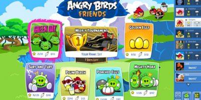 Angry Birds Friends es la versión de los pájaros destructores para Facebook. Foto:Rovio Entertainment
