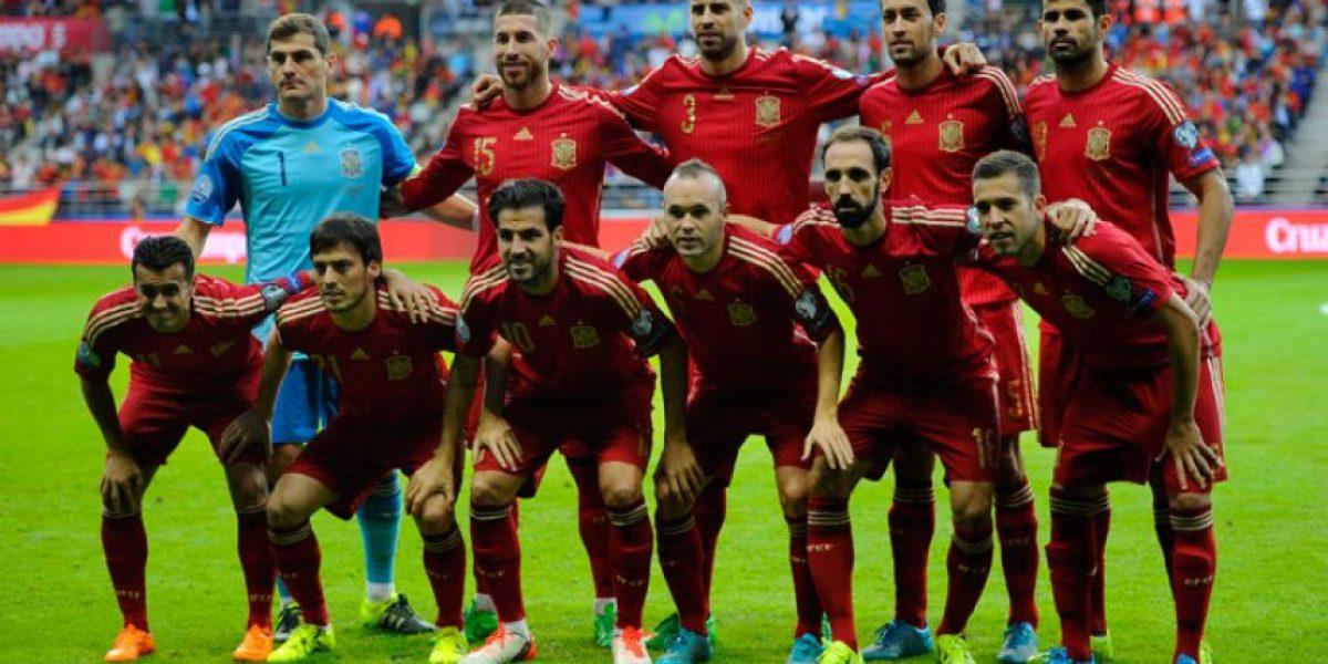 Convocados de España para partidos amistosos ante Italia y Rumania