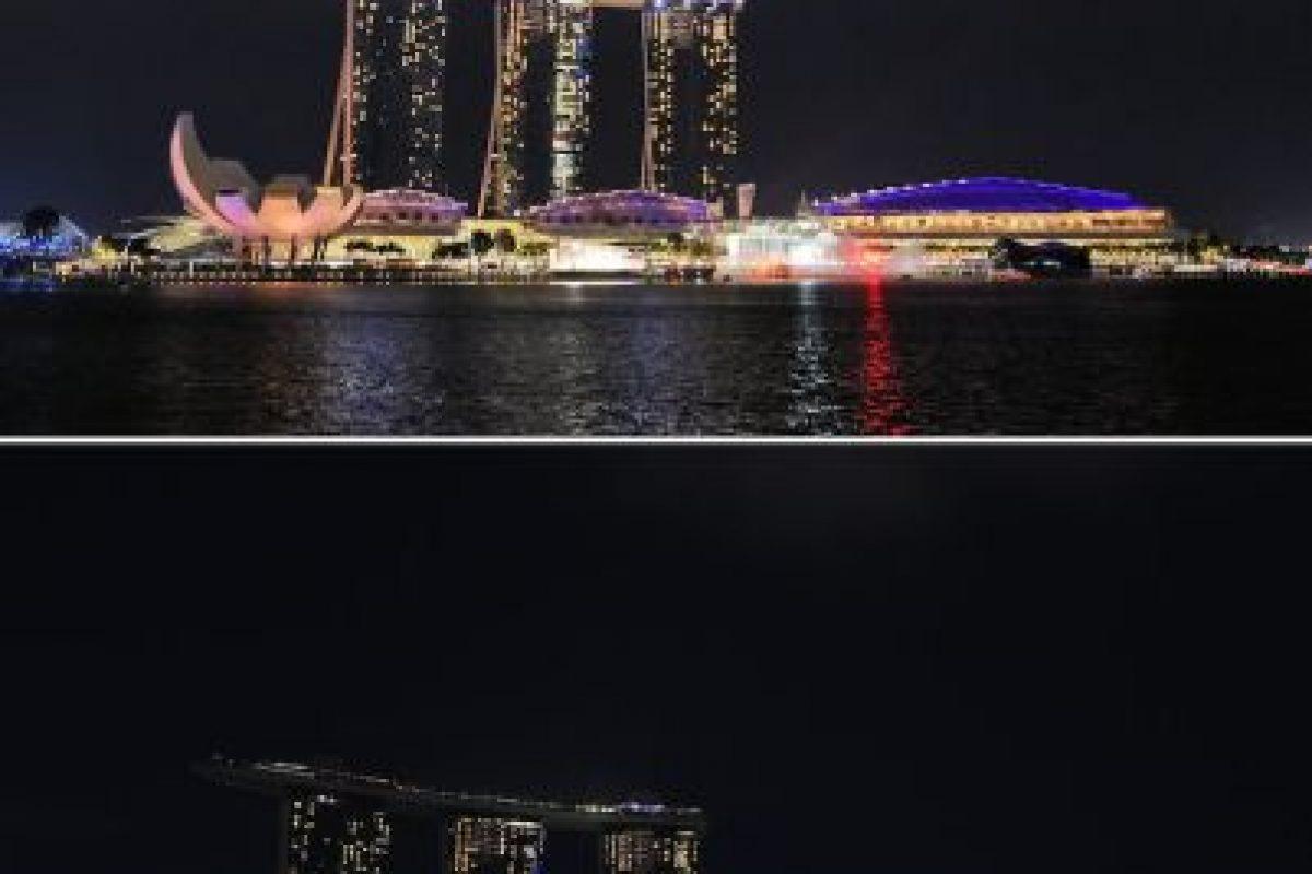 El hotel Marina Bay Sands en Singapur Foto:AFP