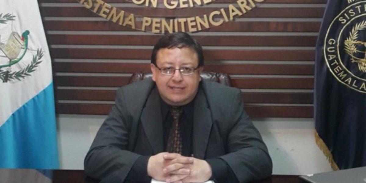 Detienen a Alcaide del penal de zona 18 sindicado de actos de corrupción