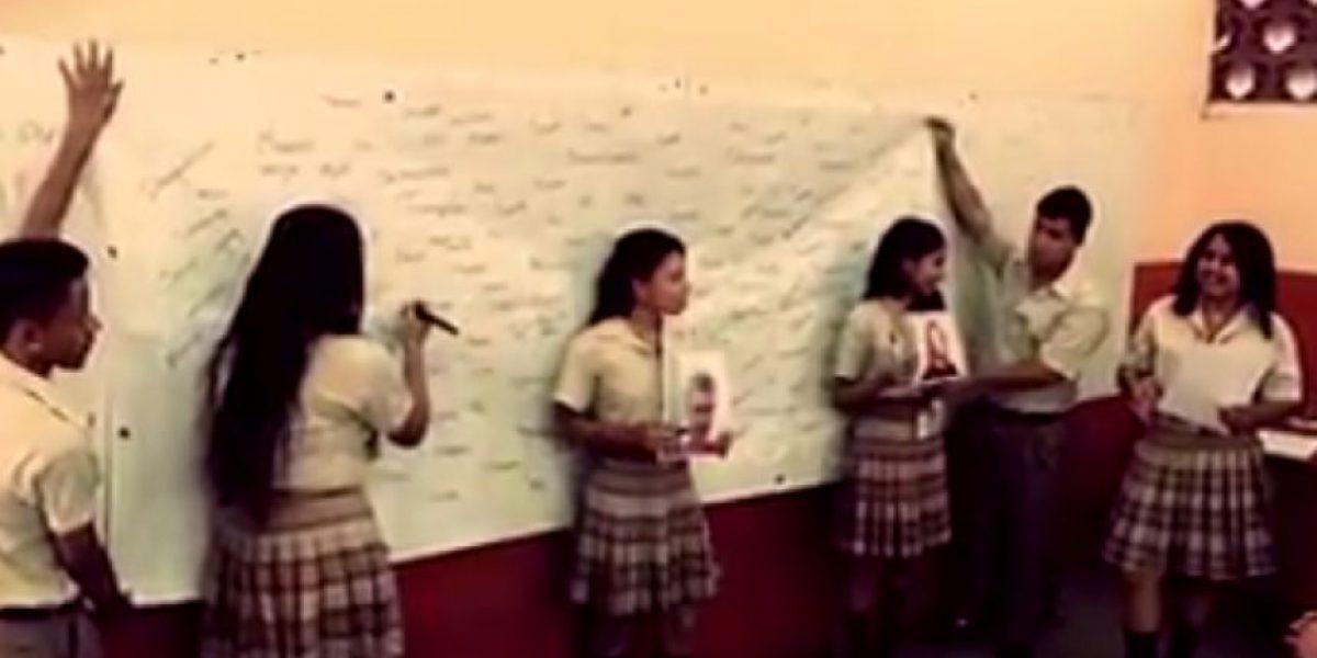 Alumnos de Guastatoya buscan evitar los prejuicios con este video