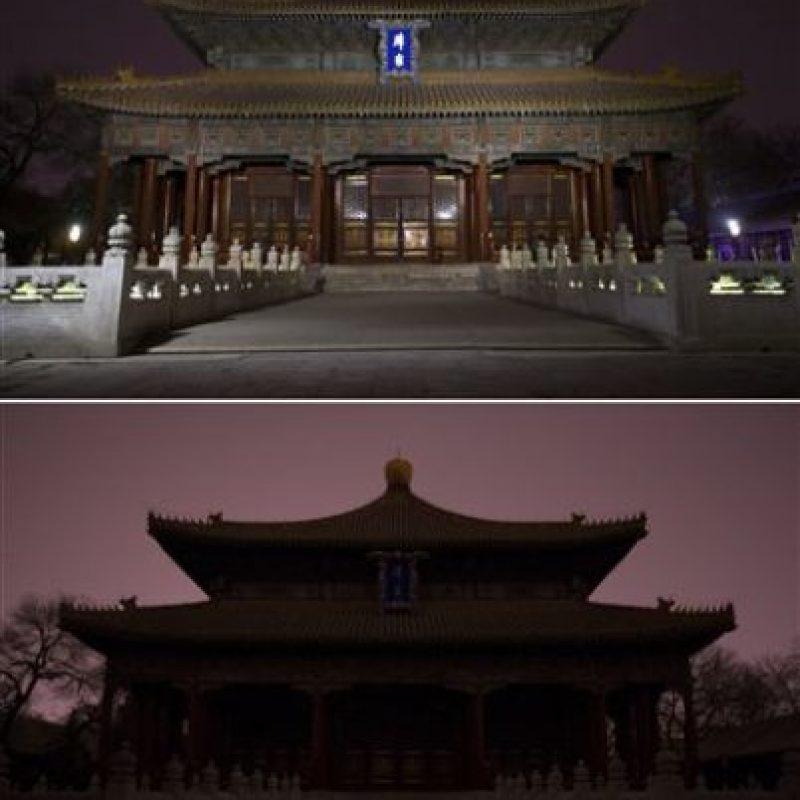 El Palacio Biyong en la Academia Imperial Guozijian en Beijing, China Foto:AP