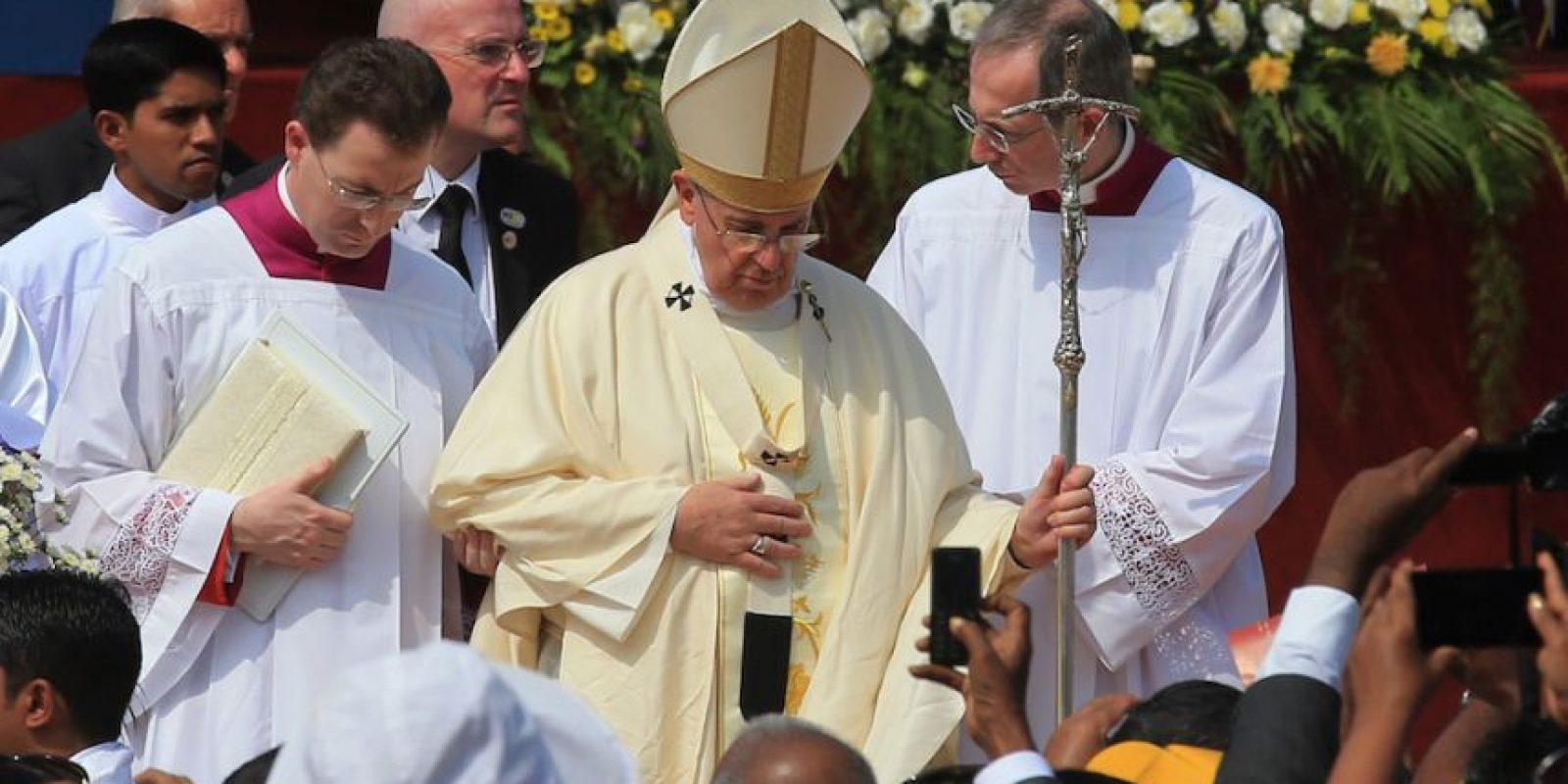 Frases que marcaron el último viaje del Papa Francisco Foto:Getty Images