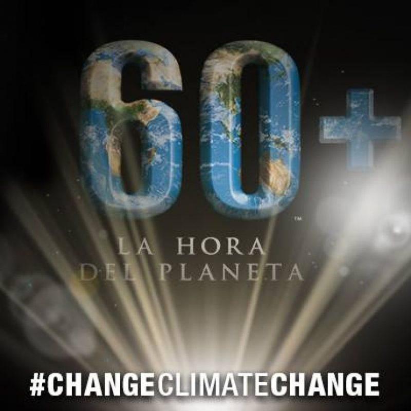 Foto:Facebook La Hora del Planeta