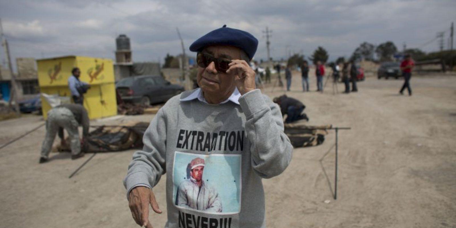 Está en la espera de que se resuelva su extradición a Estados Unidos Foto:AP