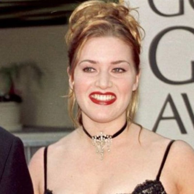 Los chokers, de Kate Winslet… Foto: vía Getty Images