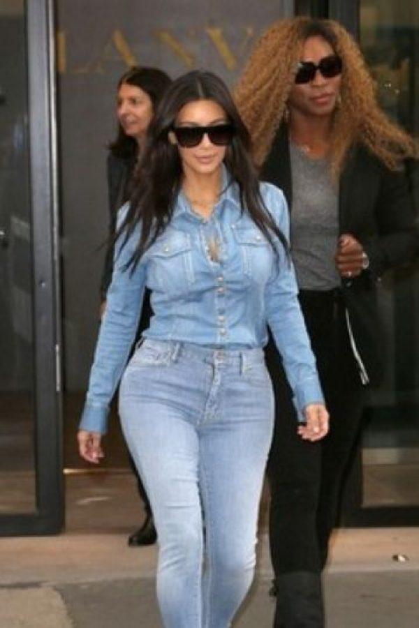 Así como Kim Kardashian. Foto:vía Getty Images