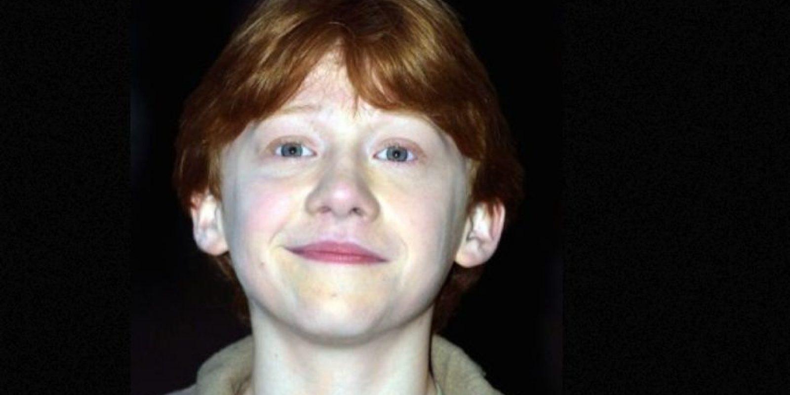"""Para conseguir el papel de """"Ron"""" envió un video, donde aparecía vestido de mujer y cantaba un rap sobre lo mucho que quería interpretar al mejor amigo de """"Harry Potter"""". Foto:vía Facebook/Harry Potter The Movie"""