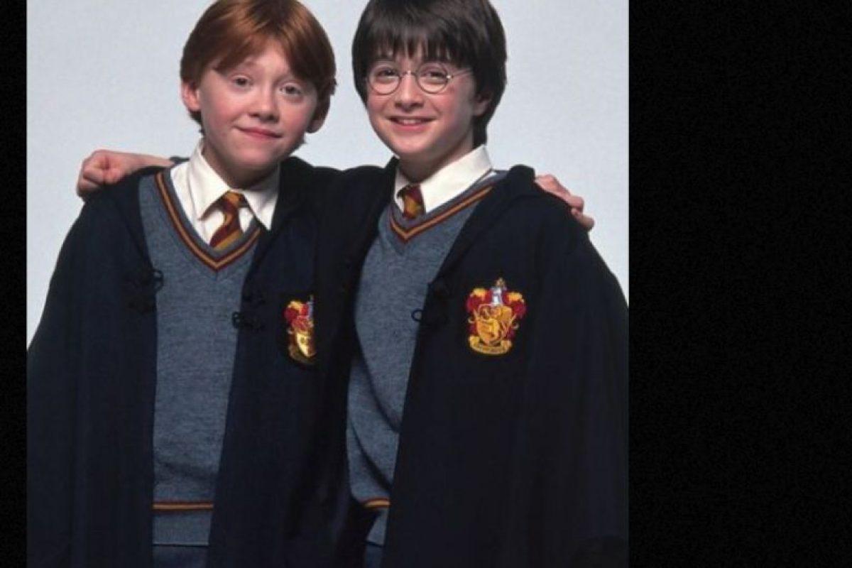 """Al igual que """"Ron"""", Grint padece aracnofobia, que es el miedo a las arañas. Foto:vía Facebook/Harry Potter The Movie"""