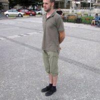 Levitación con una sombra. Foto:vía Twitter