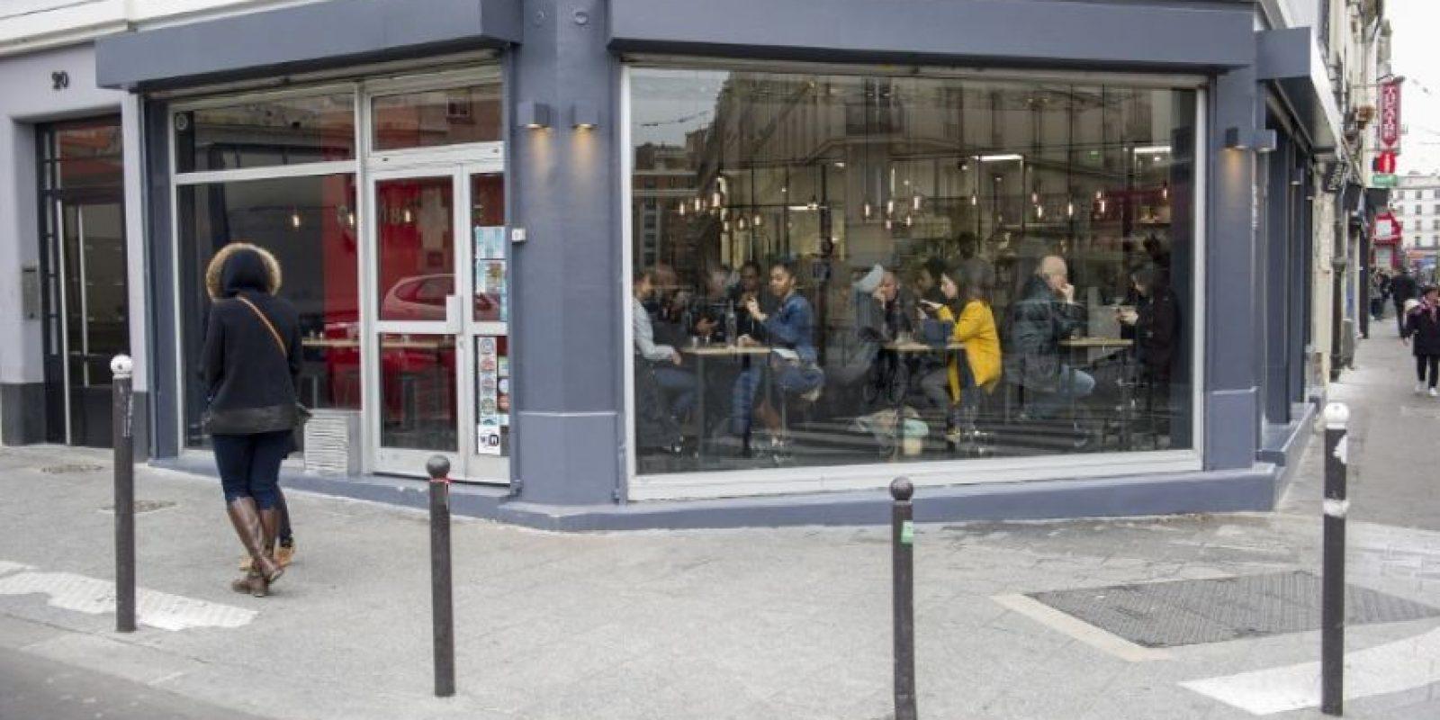 """Y el restaurante """"Le Petit Cambodge"""" Foto:AFP"""