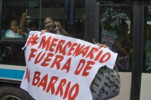 Previo a su llegada, hubo una serie de protestas Foto:AFP