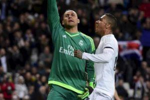 Así celebró el portero costarricense del Real Madrid Foto:AFP