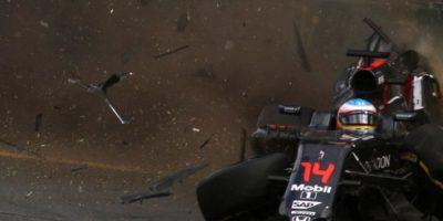 Video: Accidente de Fernando Alonso y Esteban Gutiérrez en el Gran Premio de Australia 2016 de Fórmula 1