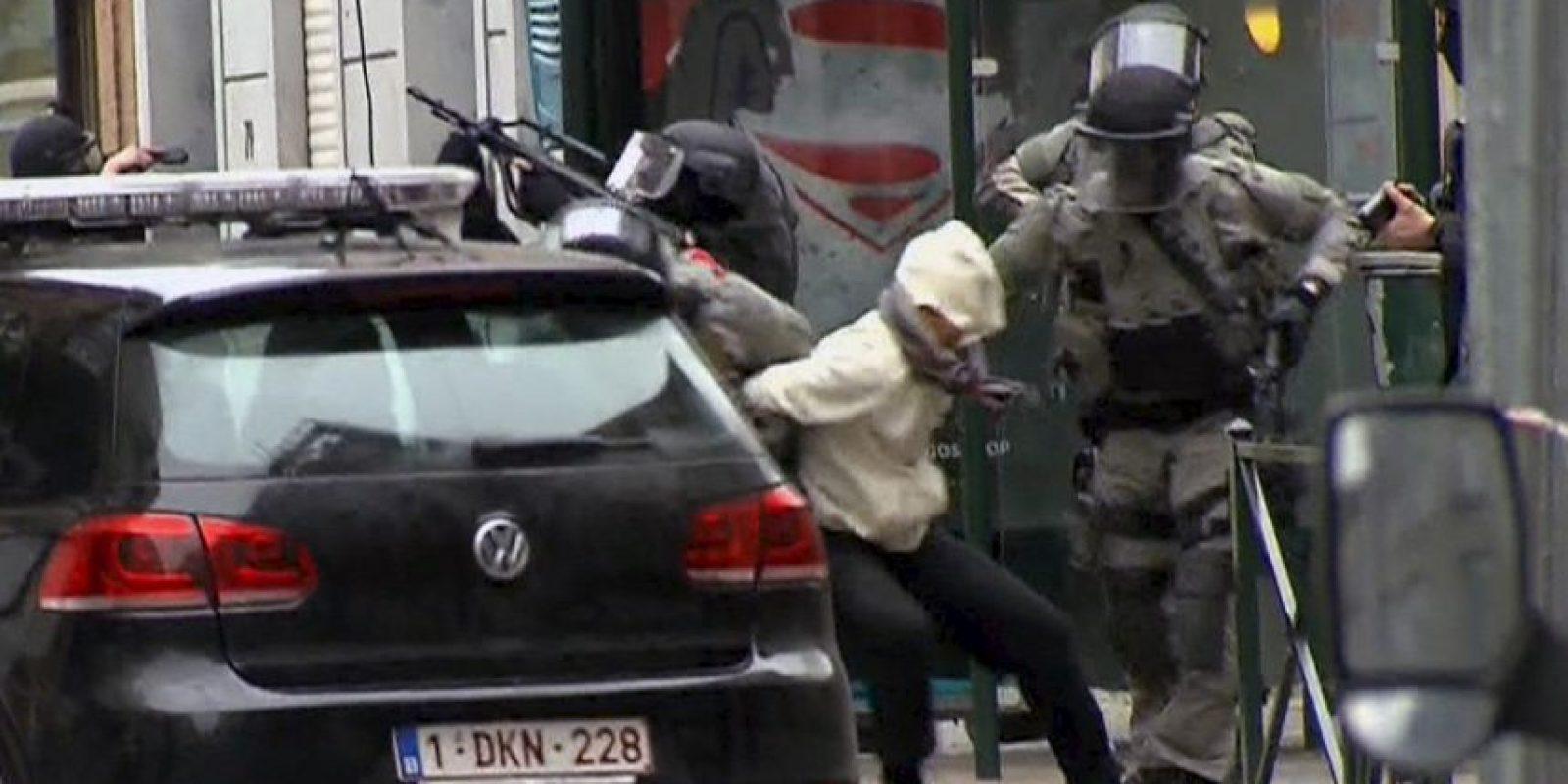 Salah Abdeslam fue detenido en Bélgica Foto:AP
