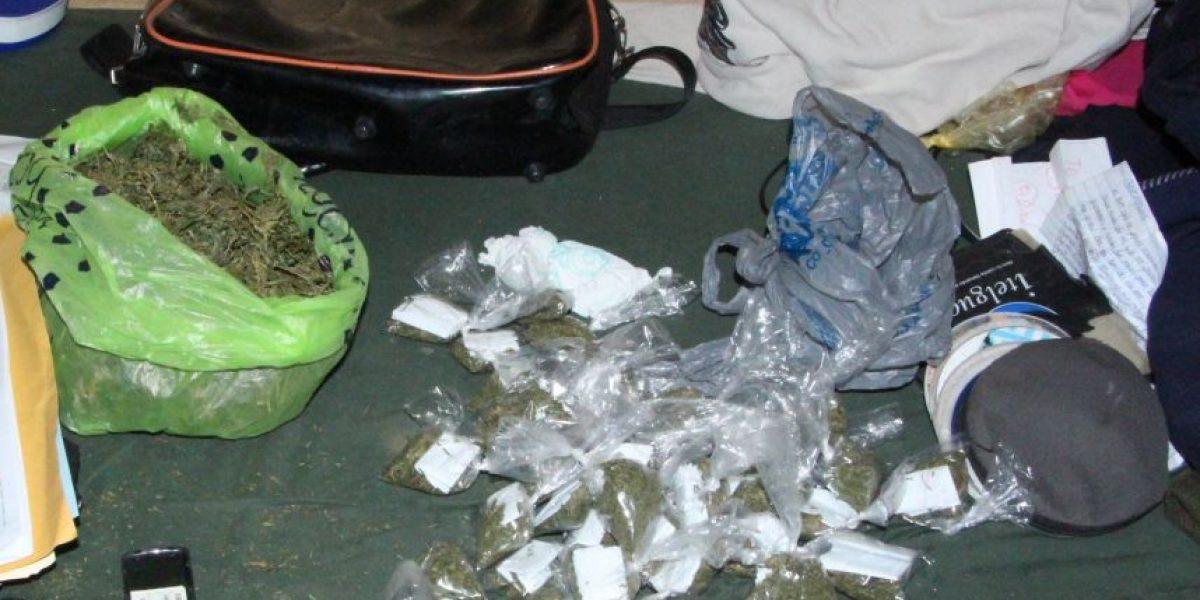 Policía detiene a abuela con marihuana en la zona 18