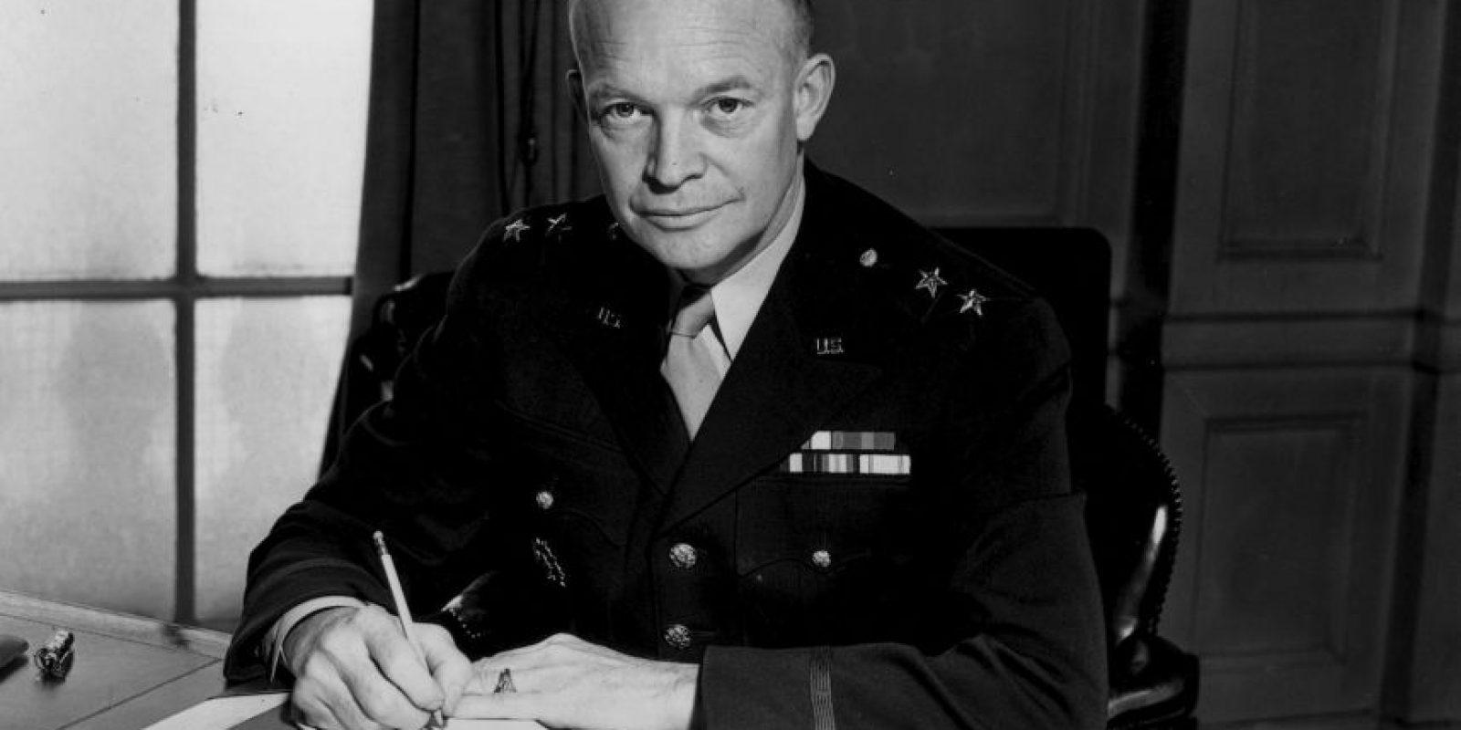El 3 de enero de 1961, el presidente de Estados Unidos Dwight D. Eisenhower, rompe relaciones con Cuba y ordena el cierre de la embajada. Foto:Getty Images