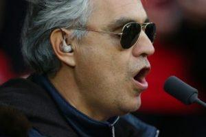 Andrea Bochelli: En contra Foto:Getty Images