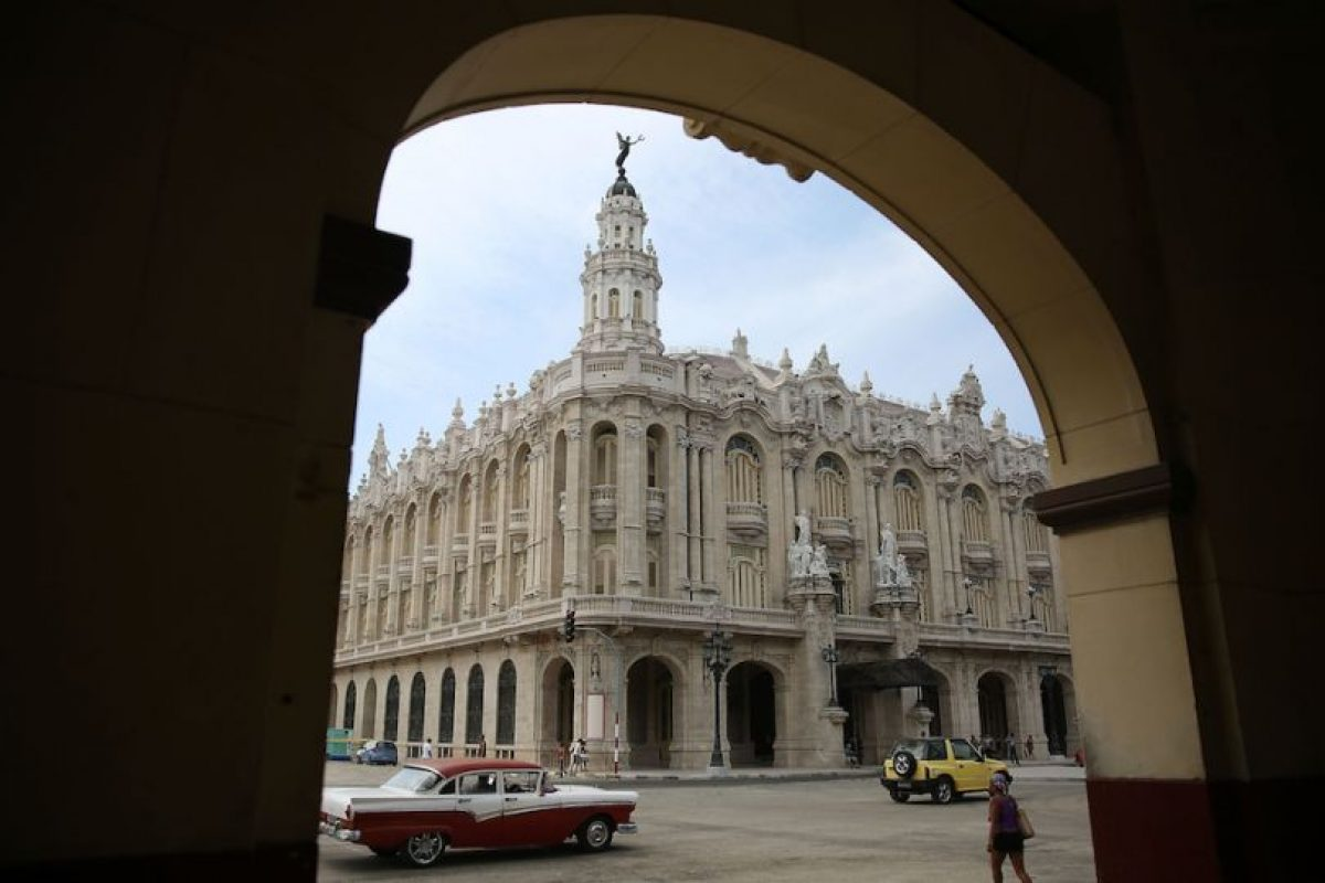 Y así luce La Habana Foto:Getty Images