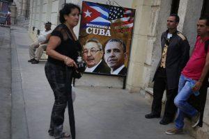 En las calles hay letreros de bienvenida a Obama Foto:Getty Images