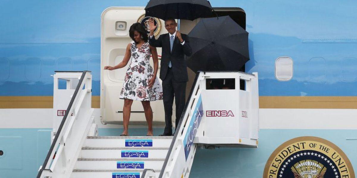 Fotos: Barack Obama llegó a Cuba y así fue recibido en la isla