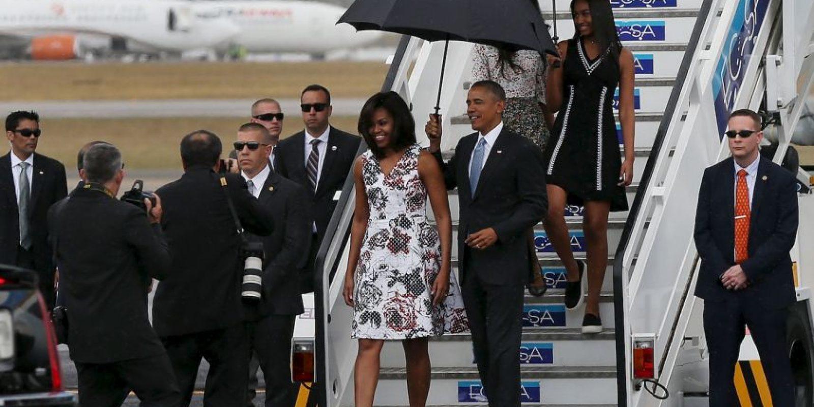 Fueron recibidos por el canciller cubano Bruno Rodríguez, el embajador cubano en Estados Unidos, José Ramón Cabañas y el encargado de negocios de la embajada de Estados Unidos en La Habana, Jeffrey DeLaurentis Foto:Getty Images