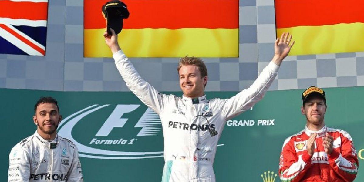 Resultado del Gran Premio de Australia 2016, Fórmula 1