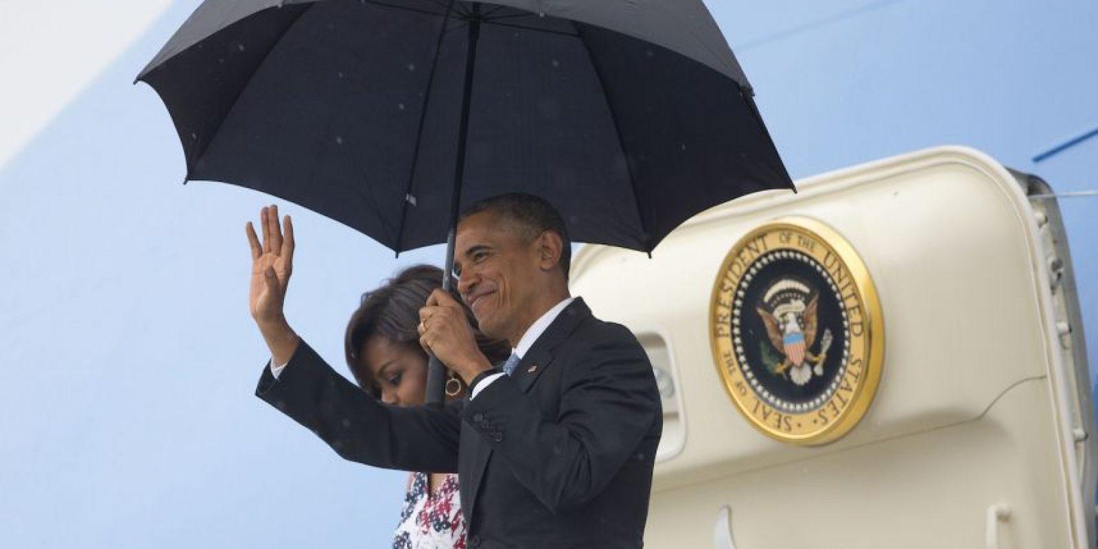 Además de sus hijas. Foto:AP