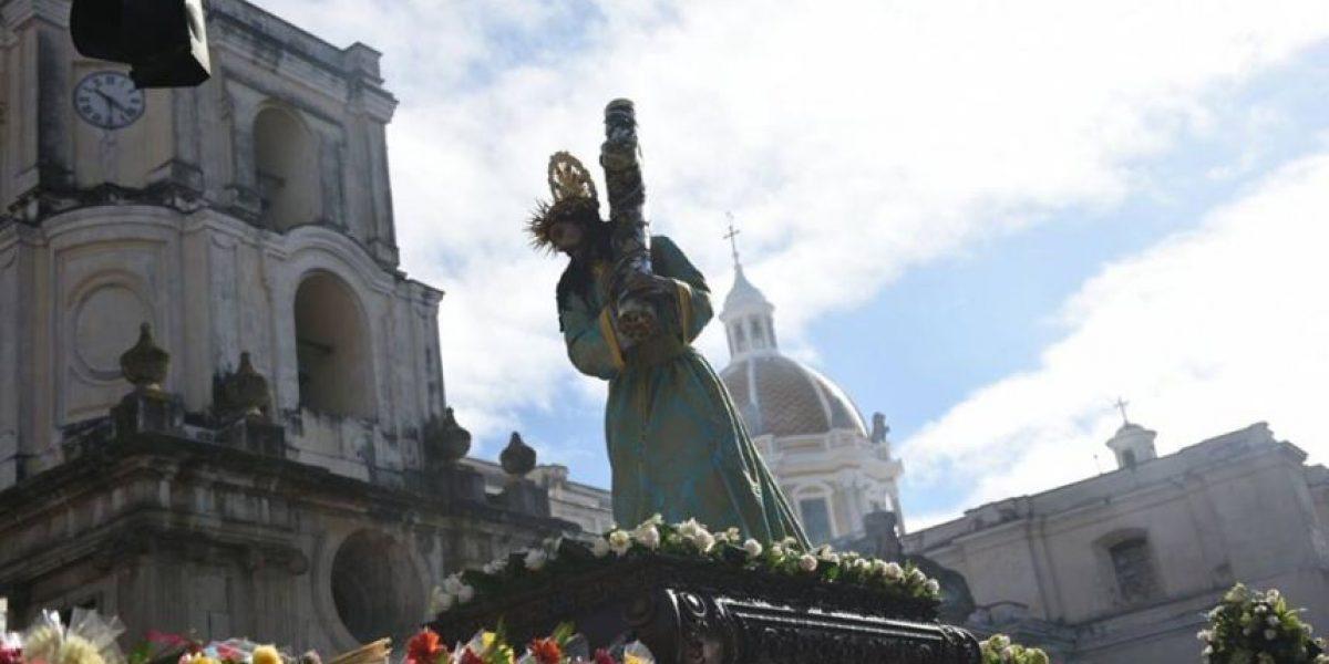 Procesión La Reseña de la Parroquia La Merced, Martes Santo 22 de marzo de 2016