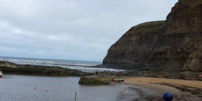 Staithes, Inglaterra. Tiene el triste título de la playa más contaminada de Europa Foto:Getty Images