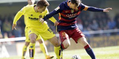 Imágenes del encuentro entre Villarreal y Barcelona Foto:AP