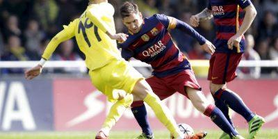 Barcelona ganaba 2-0 con goles de Rakitic (20′) y Neymar (41′, de penal) Foto:AP