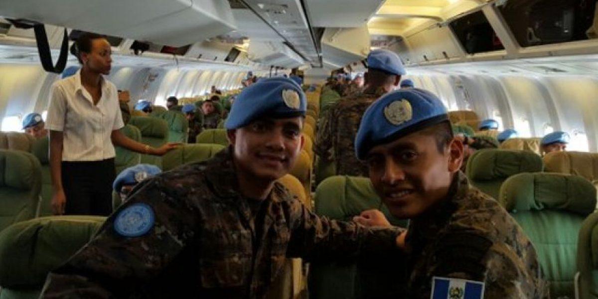 Guatemala envía 150 soldados al Congo por misiones de paz