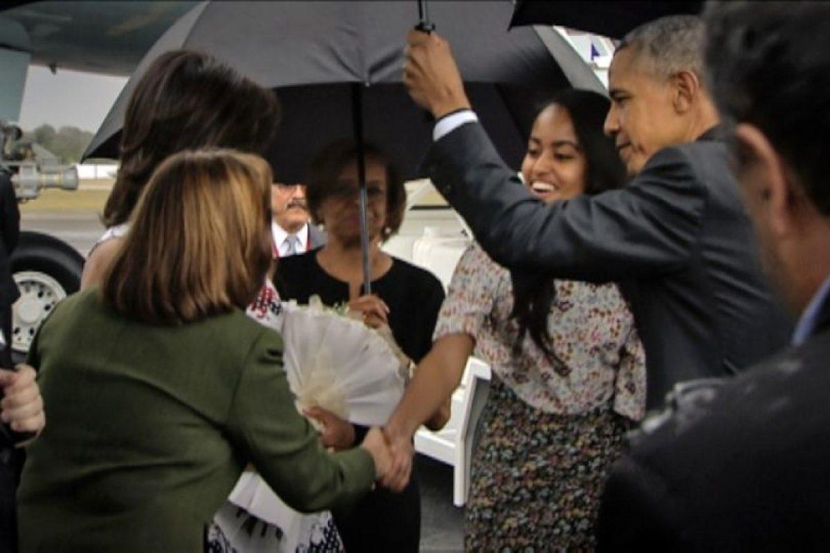 Medios locales han señalado que a donde llega el mandatario es bien recibido. Foto:AFP