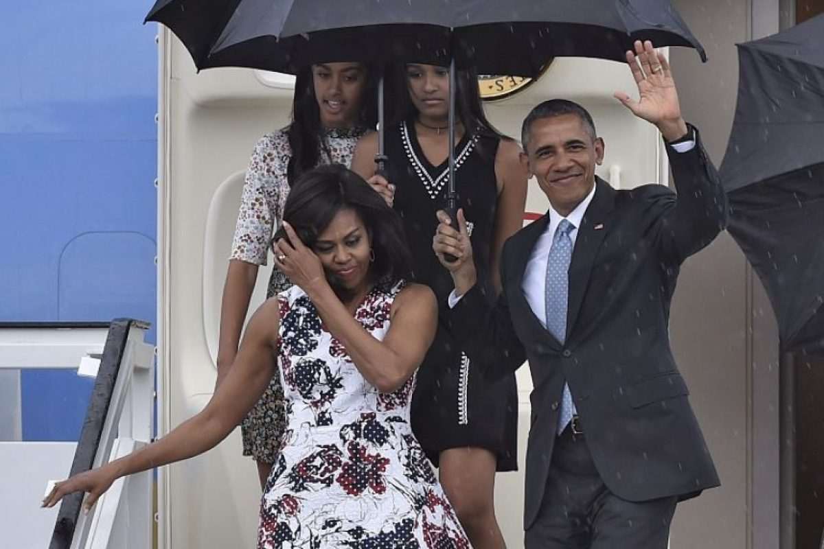Barck Obama y su familia en Cuba Foto:AFP
