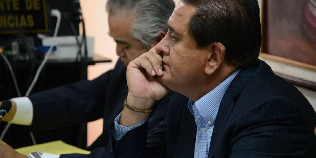 Fiscalía solicita imputarle otros dos delitos a Gustavo Alejos