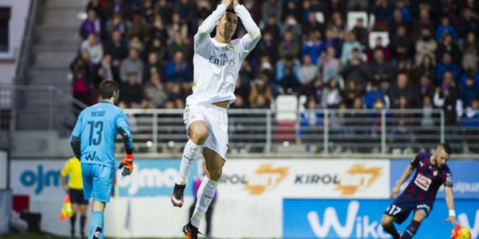 Y suma seis dianas más que Lionel Messi Foto:Getty Images